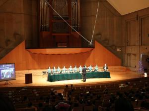 第10回ハンドベルコンサート 楽都まつもとに、清々しい音色がクリスマスを告げる!