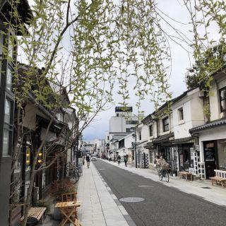 เดินเล่นย่านนากะมาจิ (中町通り)
