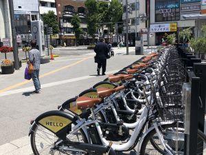 จักรยานให้เช่าแบบเสียเงินกับไม่เสียเงิน