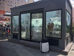 JR松本駅周辺スケッチ「指定喫煙所」開設されました!