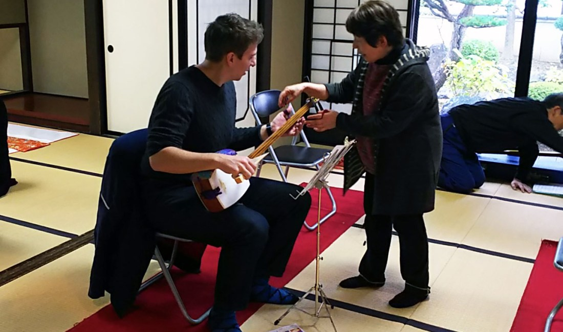Pickin' and Grinnin' at Japanese Culture Days