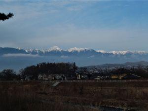 林城址登山道周辺から見る眺望~第3回 都市デザインツアー「山の見える眺望編」➁