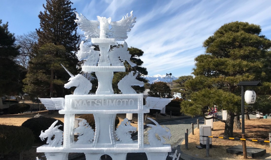 Фестиваль ледяных скульптур 2020