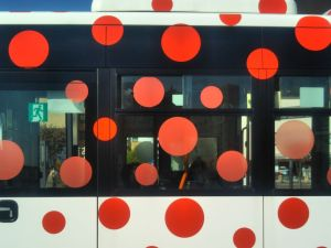 Matsumoto's City Buses: Moving Works of Art