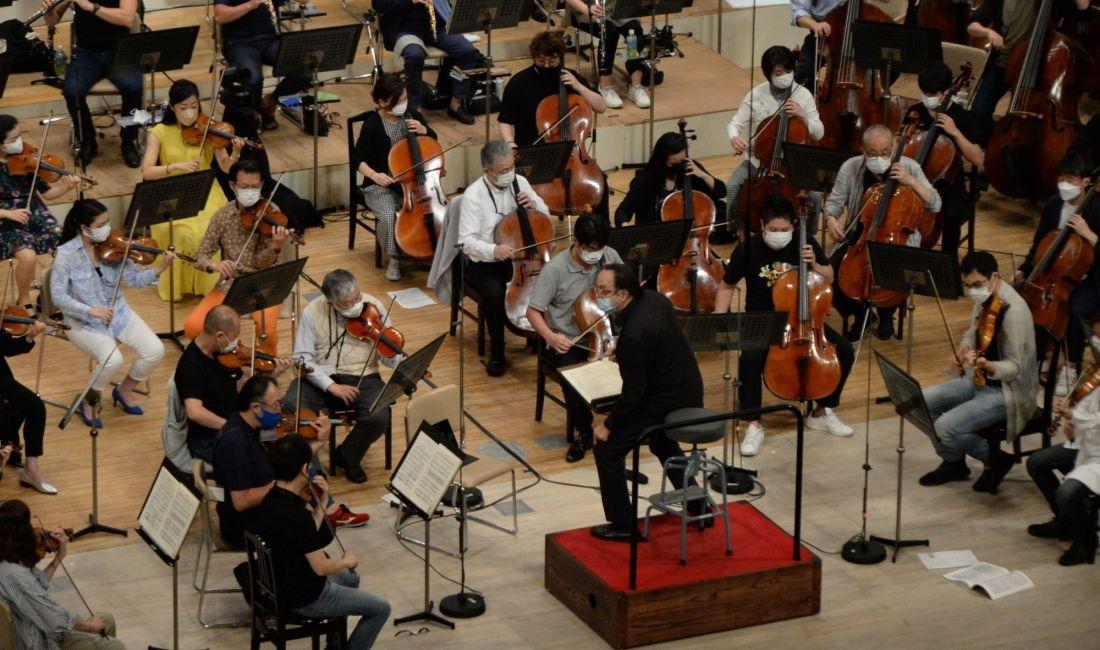 OMF オーケストラプログラムB リハーサル
