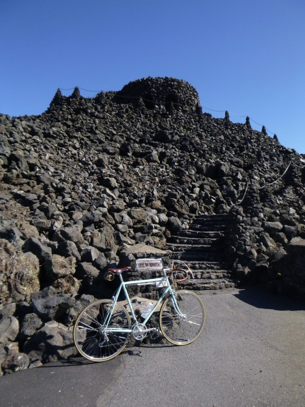 Dee Wright Observatory - fantastic lookout tower made of lava rock