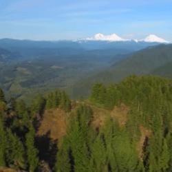 Castle Rock drone footage