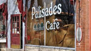 Photo of the Palisades Cafe Window