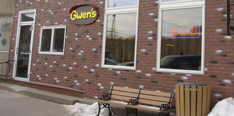 Photo of the outside of Gwen's Restauarnt