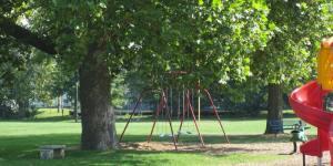 Summer view of Lisbon City Park