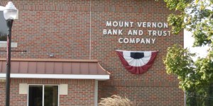 Outside of Mount Vernon Bank and Trust