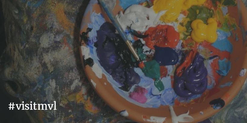 paint and paintbrush
