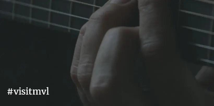 close-up playing guitar chord #visitmvl