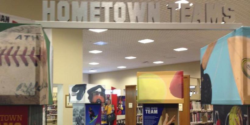 Hometown Teams Display