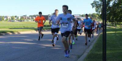 Runners in 5K Race