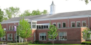 Cole Library Front of Building