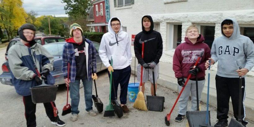 HIgh School Volunteers