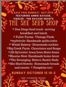 The She Shed Shop Sale