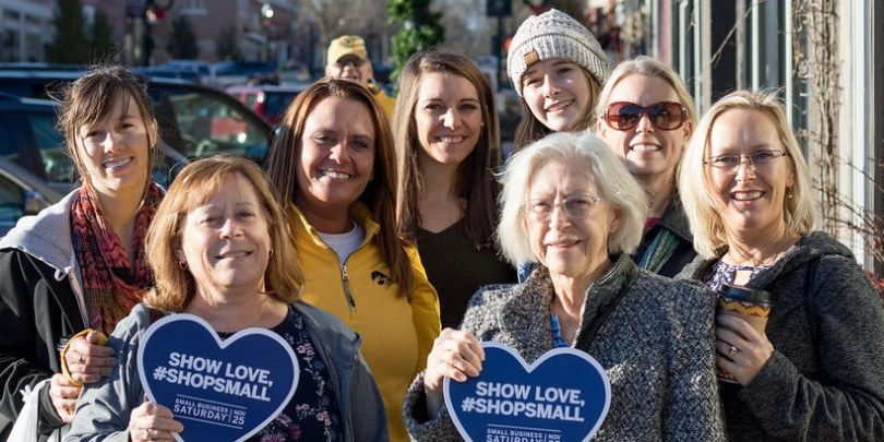Shop Small Saturday Shoppers November 2017