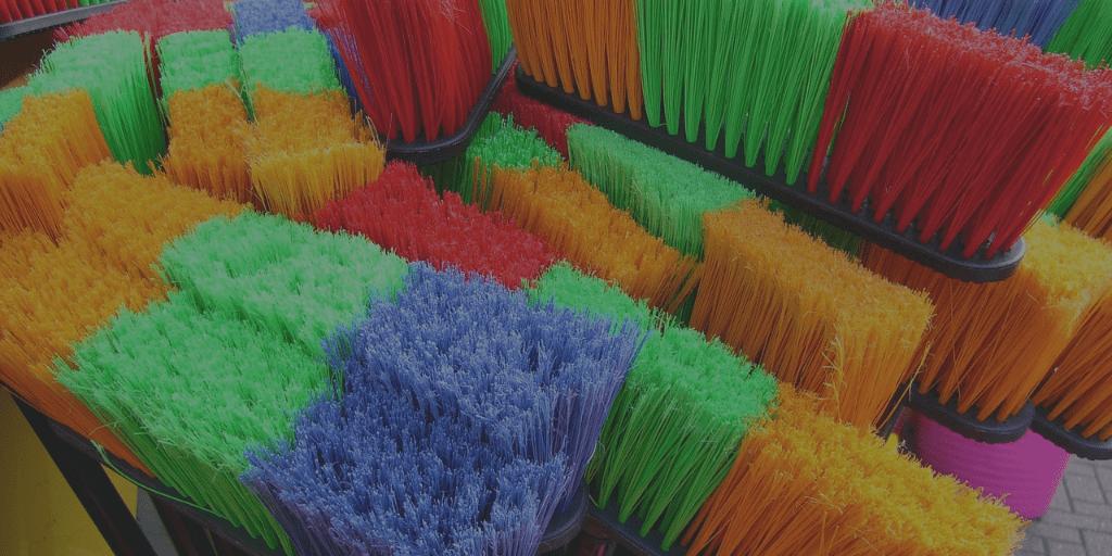 brooms clean-up