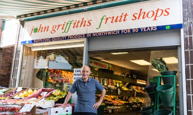 50 Years in Business for Northwich Fruit Shop