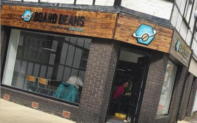 Live From Northwich! Featuring Board Beans Café