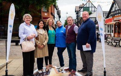 Great British High Street Awards judges visit Northwich