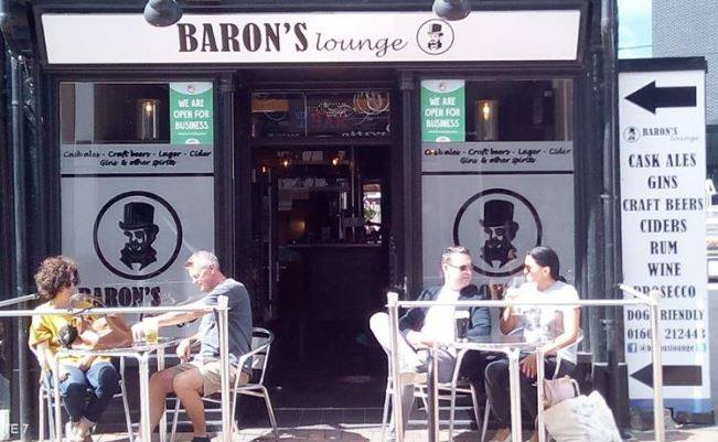 Baron's Lounge outdoor