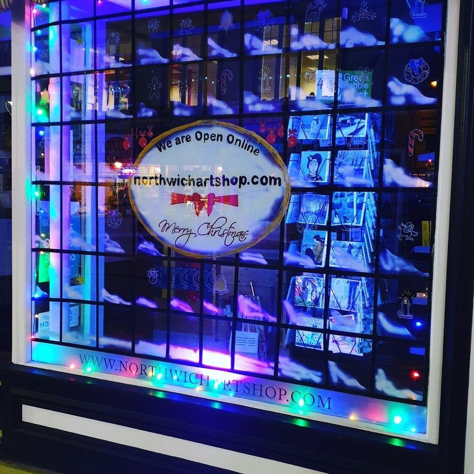 Northwich Art Shop Christmas