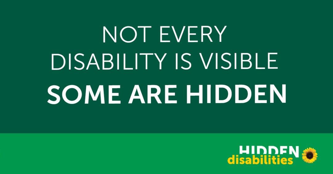 Sunflower Scheme - Hidden Disabilities