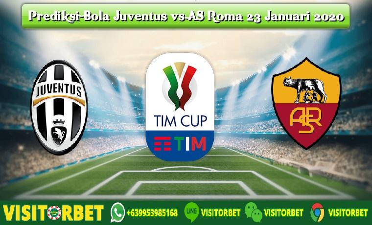 Prediksi Bola Juventus vs AS Roma 23 Januari 2020