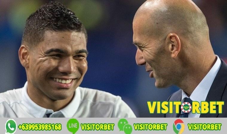 Zinedine Zidane Casemiro