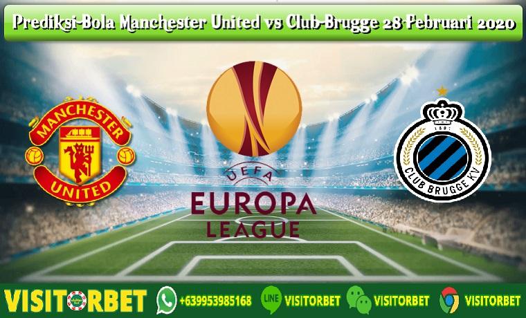 Prediksi Bola Manchester United vs Club Brugge 28 Februari 2020