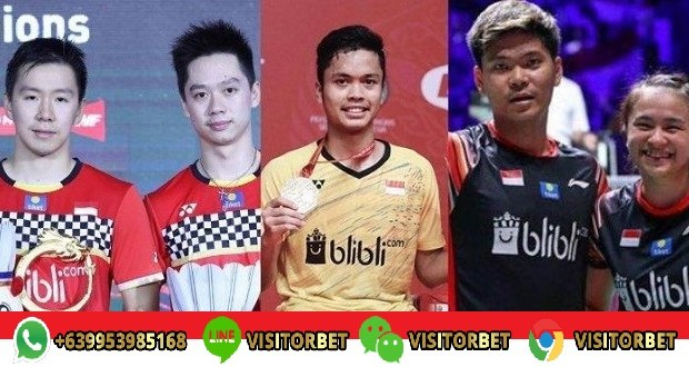7 Wakil Ke BWF World Tour Finals 2019