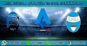 Prediksi Bola Atalanta vs SPAL 21 Januari 2020