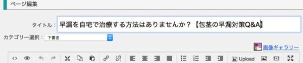 (稼ぐためのタイトルに変更)