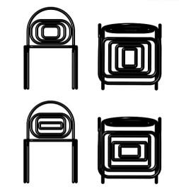 A.I. Licorice chairs