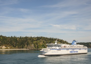 Vancouver Island: BC ferries heading to Vancouver Island