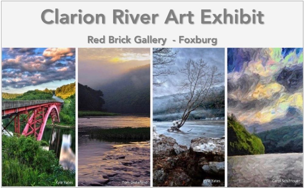 Regional Artists & Poets Celebrate the Beauty & Revitalization of the Clarion River