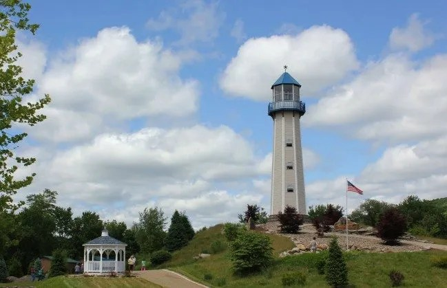 The Tionesta Lighthouse