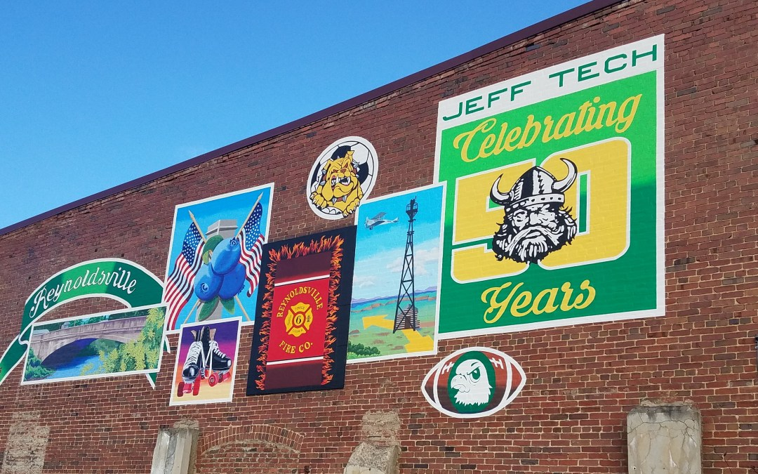 Reynoldsville Mural Update