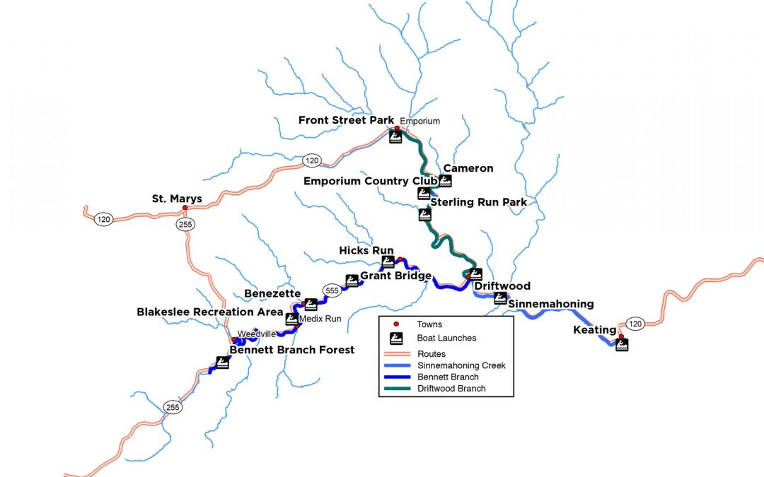 New Sinnemahoning Water Trail