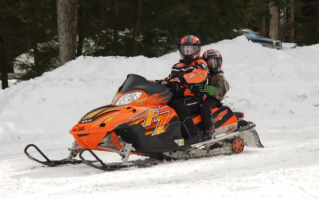 Snowmobiling the ANF Trails