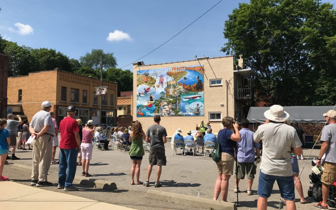 East Brady Playground of the Allegheny Mural Dedication & Allegheny River of the Year Celebration