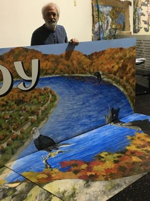 """East Brady """"Playground of the Allegheny"""" Mural Dedication"""