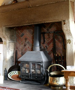 The Smithy fireplace
