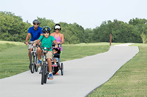 Mary's Creek Trail in Pearland