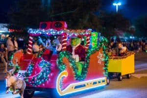 Hometown Christmas Parade held annually in Pearland