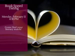Library book speed dating