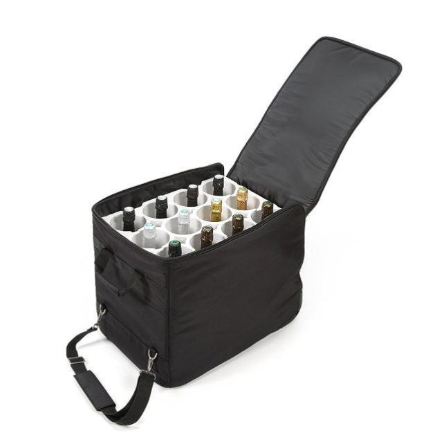 Lazenne Wine Travel Bag flying with wine